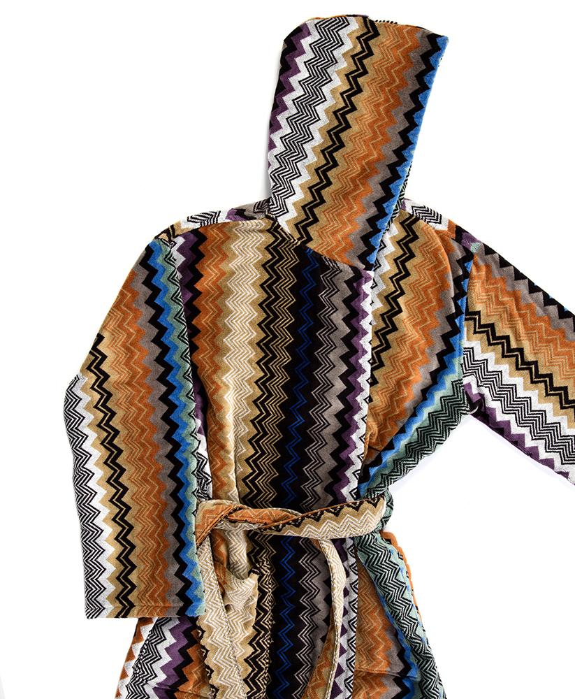 missoni bathrobe scott color  – stefano store - quick view
